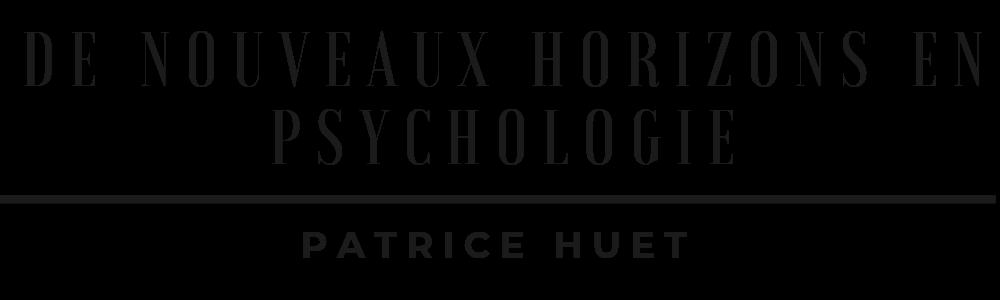 De Nouveaux Horizons en Psychologie